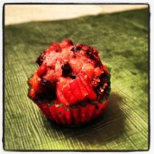 Mini Fruit Muffin