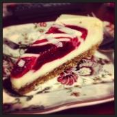 Christmas Cheesecake