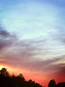 that sky <3