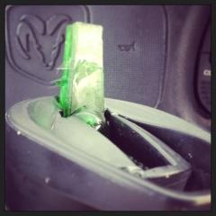 My water bottle got iced!