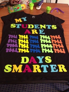 Nancy's 100 Day shirt :)