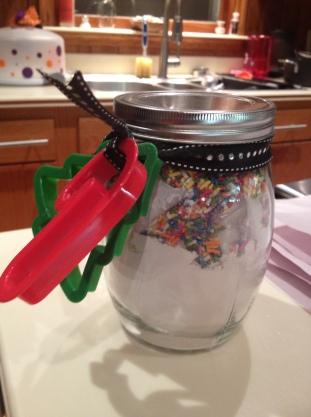 Sugar Cookie Gift Jars