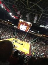 We had such good seats!