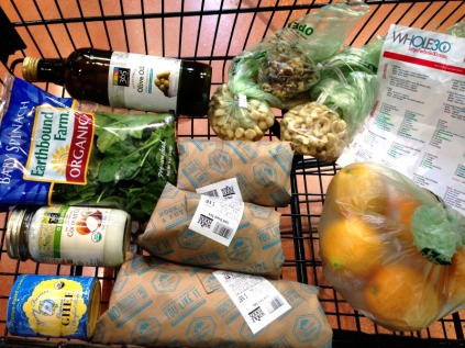 Shopping for Whole30