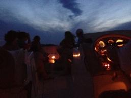 Night riders..