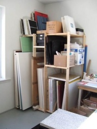 Canvas storage