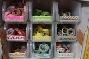 Washi Tape Organized