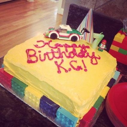The Awesome Lego Cake!