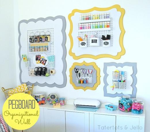 pegboard-organizational-wall