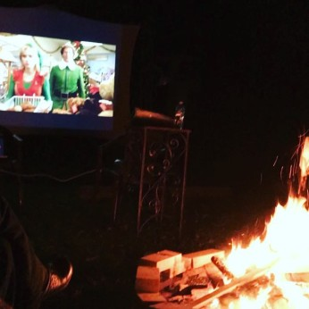 Bonfires, Snuggles, and Movies!