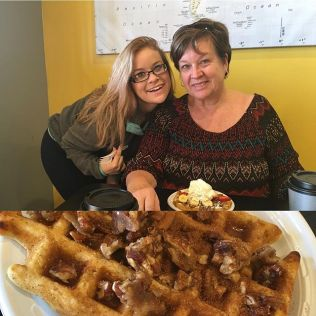 Breakfast with Mom & Sis