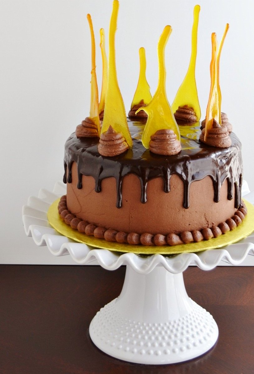 Lemon Chocolate Cake